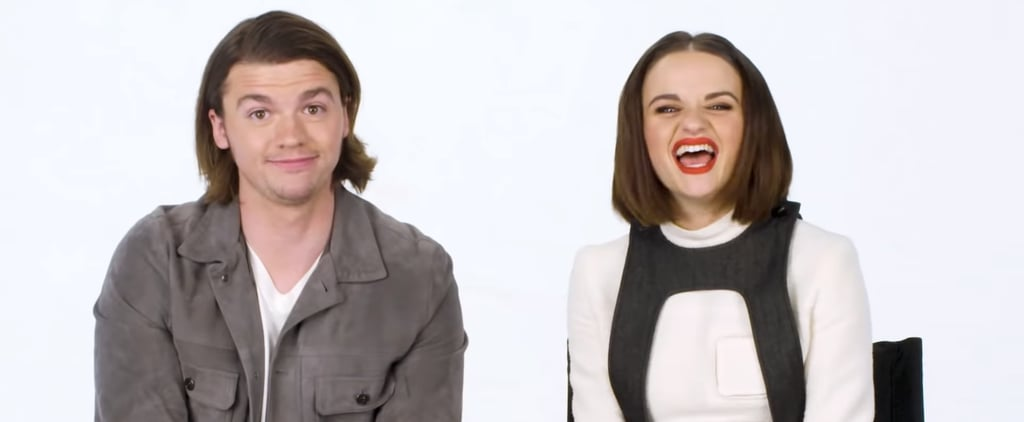 Watch Joey King and Joel Courtney Recap The Kissing Booth