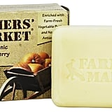 When you don't have time for pumpkin picking, bring the farm to you via this natural soap. It has the scent of natural essential oil blended with pumpkin, cinnamon, and spice. The certified organic ingredients include shea, blueberry, and avocado butters as well as vitamins A and E.  Farmers' Market Organic Bar Soap Pumpkin Spice ($3)