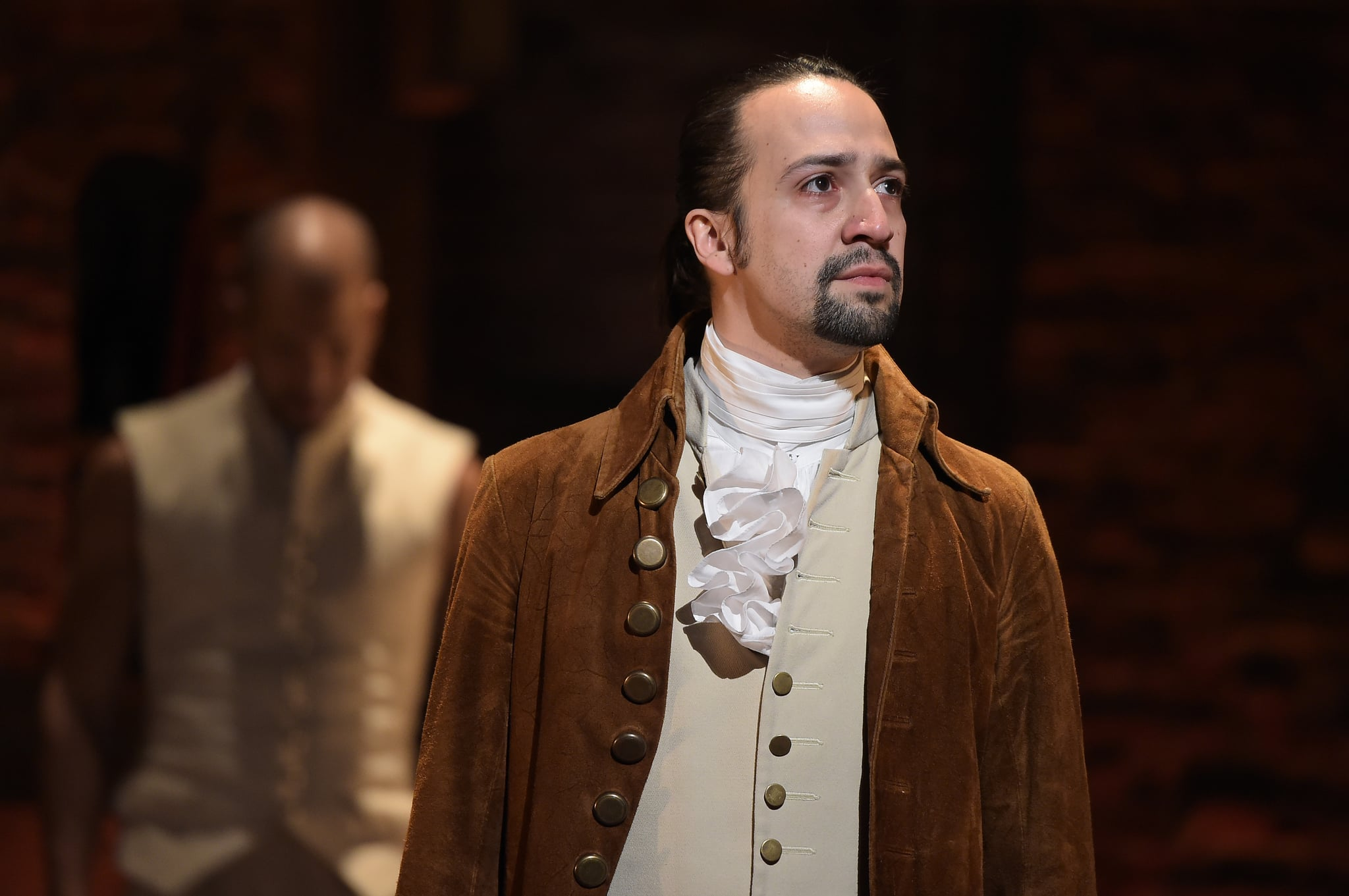NEW YORK, NY - FEBRUARY 15:  Actor, composer Lin-Manuel Miranda is seen on stage during