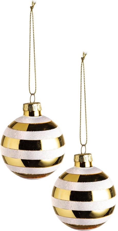 2 pack christmas ornaments 7 cheap h m holiday for H m christmas decorations