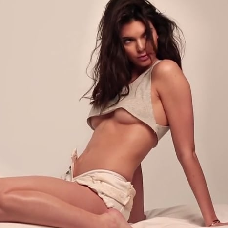 Kendall Jenner Sexy GQ Photo Shoot Video