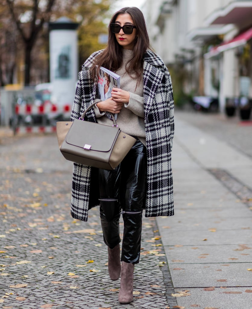 Casual Outfits Street Style For Winter 2014 2015: Winter Coat Outfit Ideas