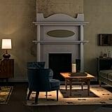 Rosemary's Baby-Inspired Midcentury-Style Living Room
