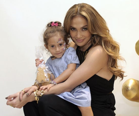Slide Picture of Jennifer Lopez and Emme Anthony at a Gucci Event in LA