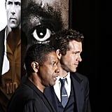 Ryan Reynolds and Denzel Washington premiered Safe House in NYC.