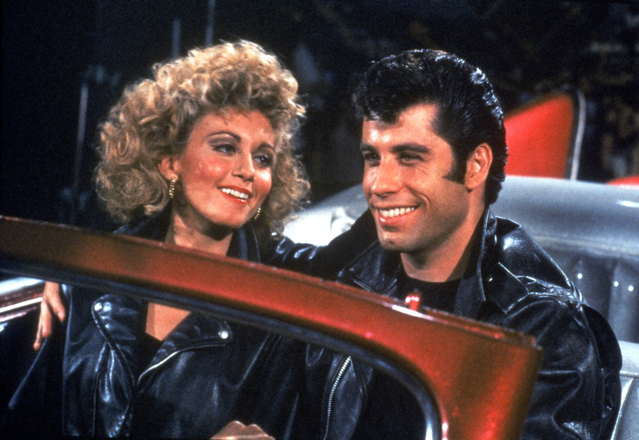 GREASE, Olivia Newton-John, John Travolta, 1978, (c) Paramount/courtesy Everett Collection