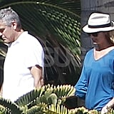 George Clooney and Stacy Keibler Continue Their Cabo Time With Pals