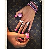 Even Beyonce's hands are more glam that ours! Source: Instagram user beyonce