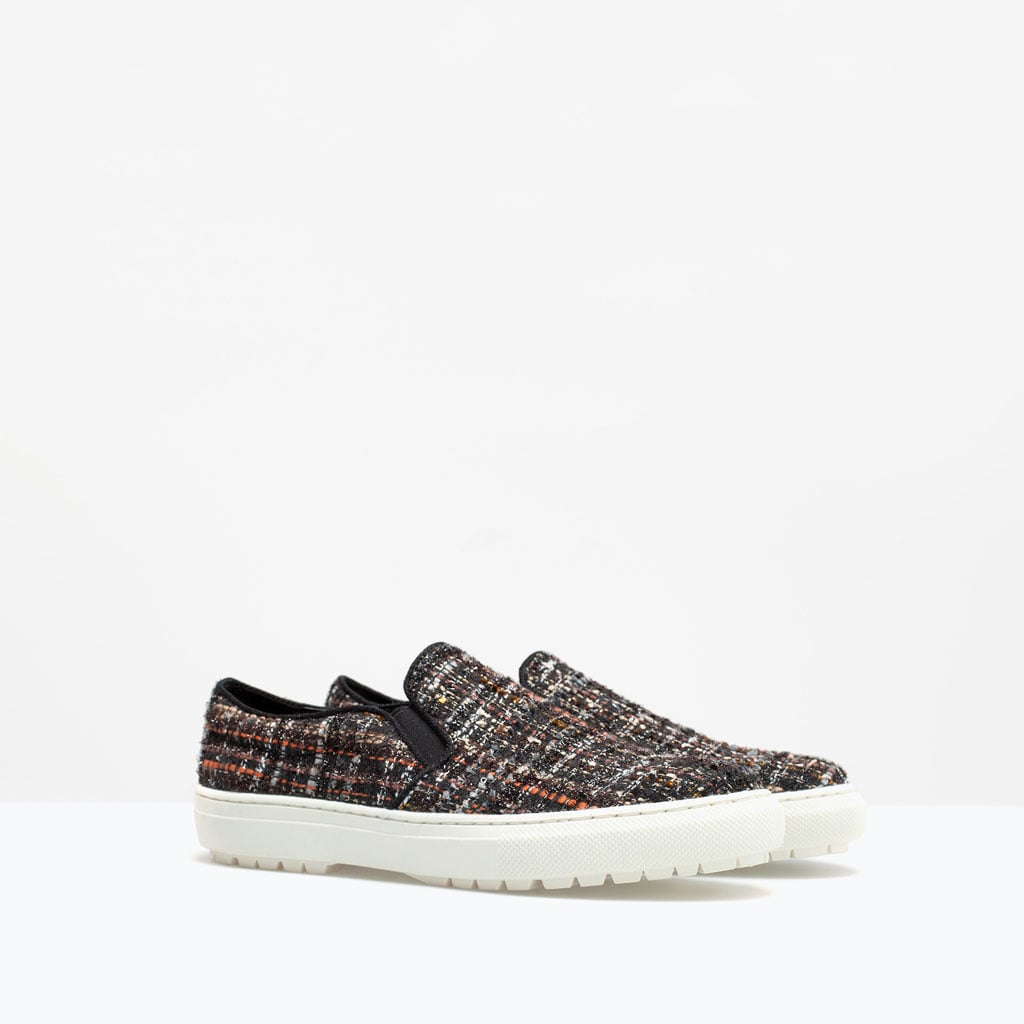 Zara Fabric Plimsoll ($80)