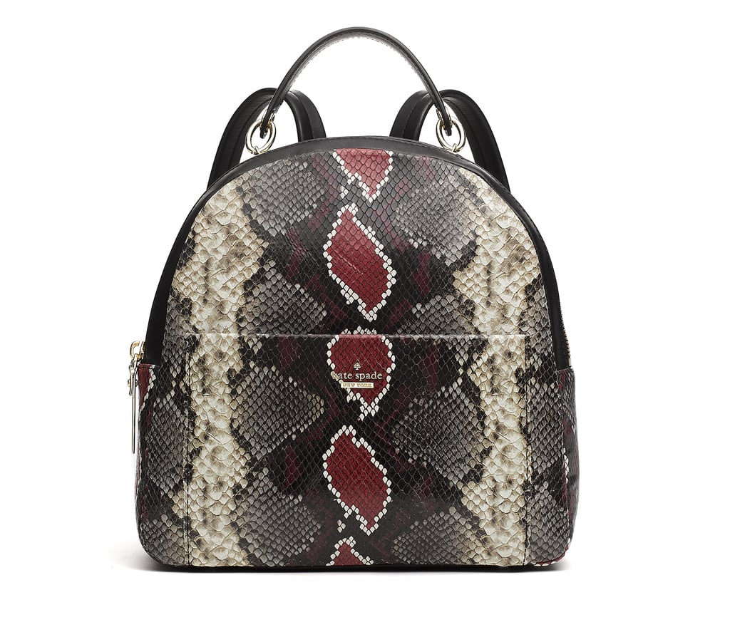 Taylor Swift S Snakeskin Backpack July 2018 Popsugar Fashion