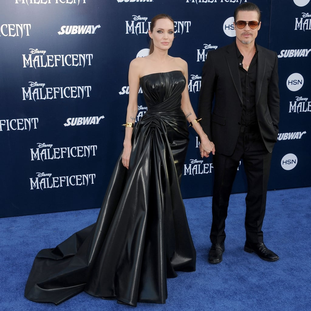 Did Angelina and Elle Stay in Character For the Maleficent Premiere?