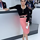 Pink Pencil Skirts Aren't Just Pretty, They're Also Polished
