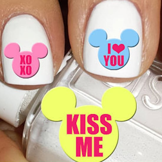 Valentine's Day Disney Nail Decals