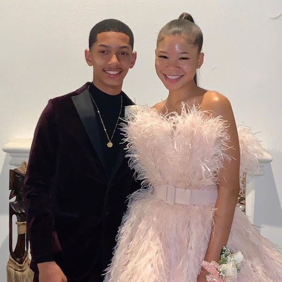 Storm Reid and Boyfriend Sayeed Shahidi at Homecoming 2019