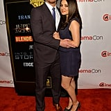 Mila Kunis and Channing Tatum buddied up to promote their new film, Jupiter Ascending, at CinemaCon in Las Vegas.