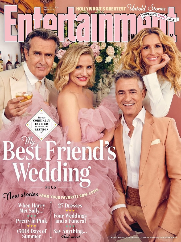 My Best Friend's Wedding Reunion Entertainment Weekly Cover