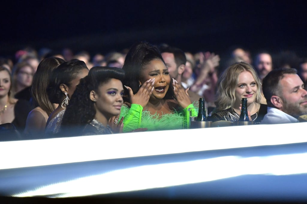 Tessa Thompson, Lizzo, and Elisabeth Moss at the 2019 MTV Movie and TV Awards