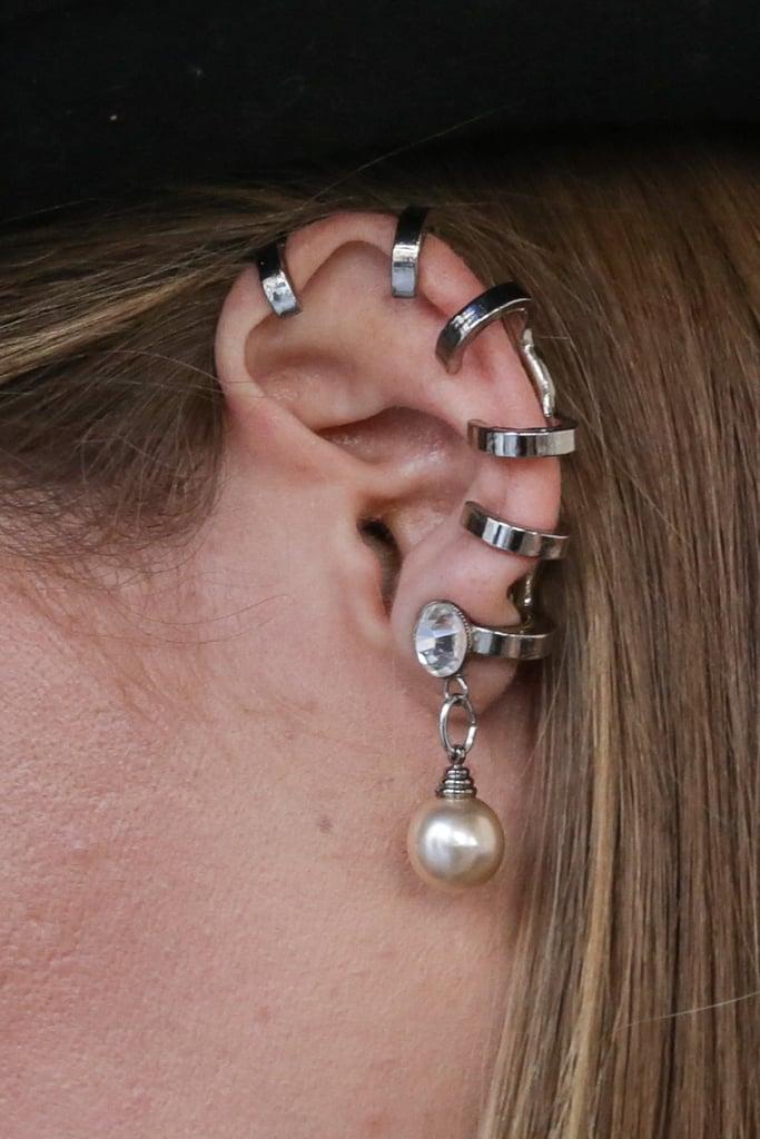 An army of ear cuffs.