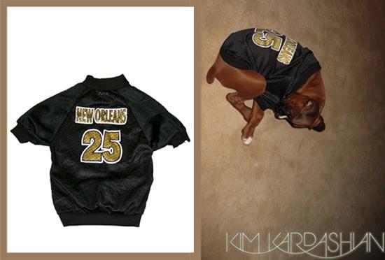 Found! #25 Saints Dog Jersey Worn by Reggie's Pooch, Rocky