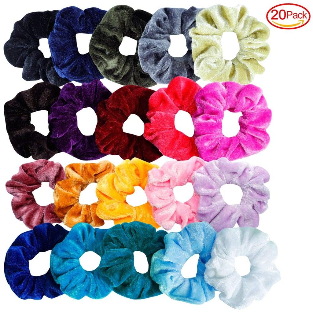Mandydov 20-Piece Hair Scrunchie Set