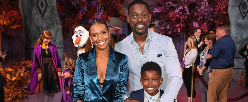 Sterling K. Brown With Family at Frozen 2 Premiere Photos