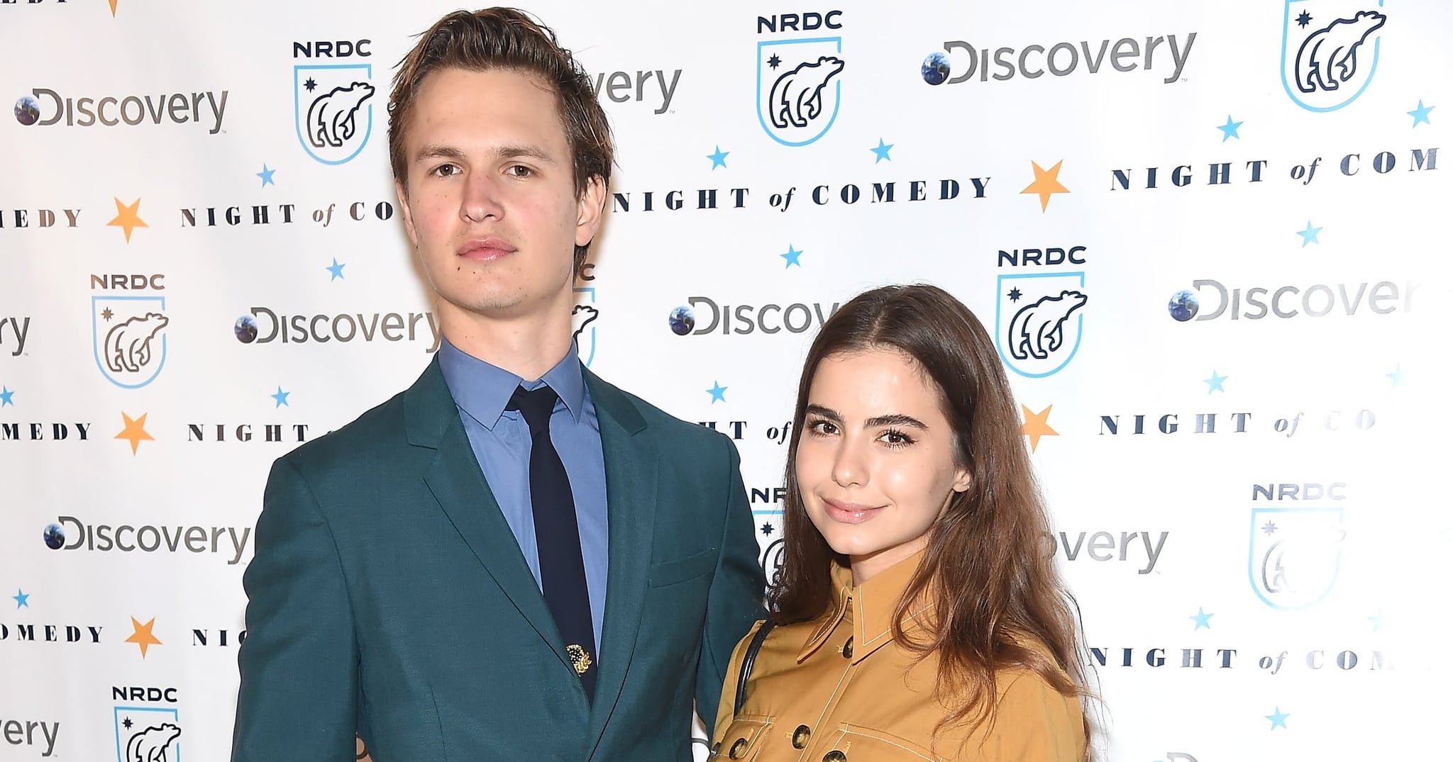 Ansel Elgort Supports His Girlfriend at a New York Art Show