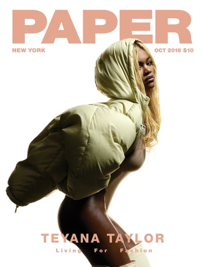 Teyana Taylor Paper Magazine Pictures October 2016