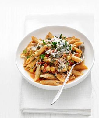 Food Network Recipe For Whole Grain Pasta With Chickpeas & Escarole
