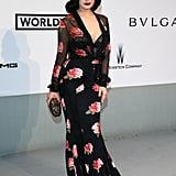 Dita Von Teese showed off her curves.