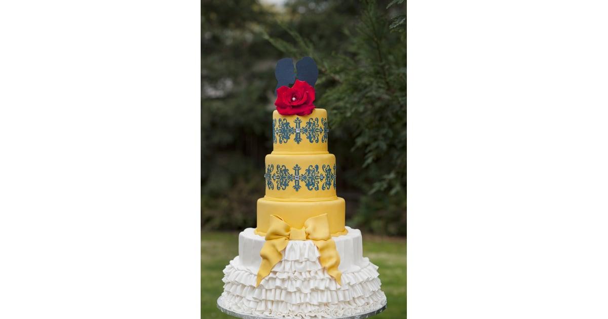 Beauty and the Beast Disney Wedding Cake Ideas