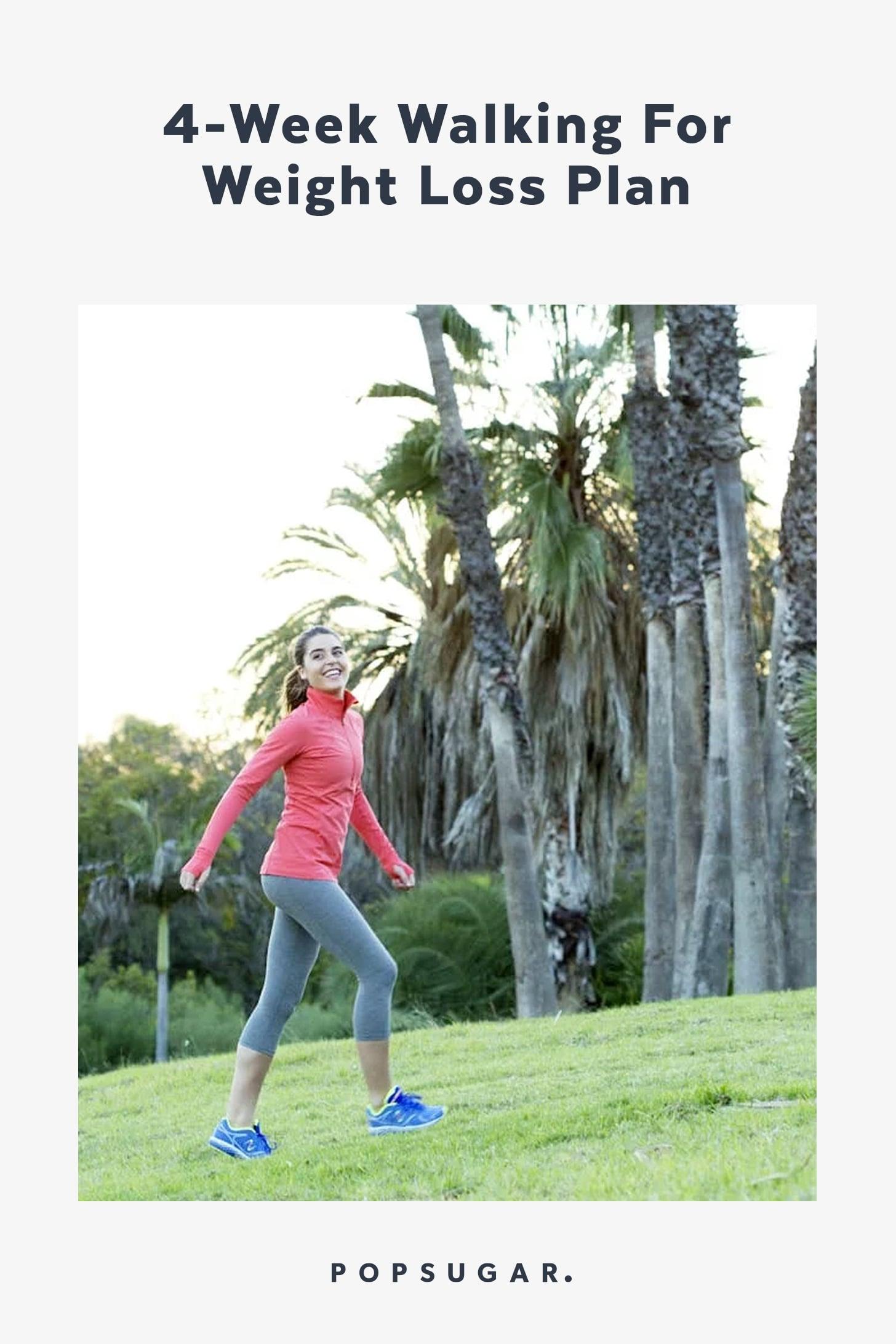 Walking For Weight Loss Plan | POPSUGAR Fitness