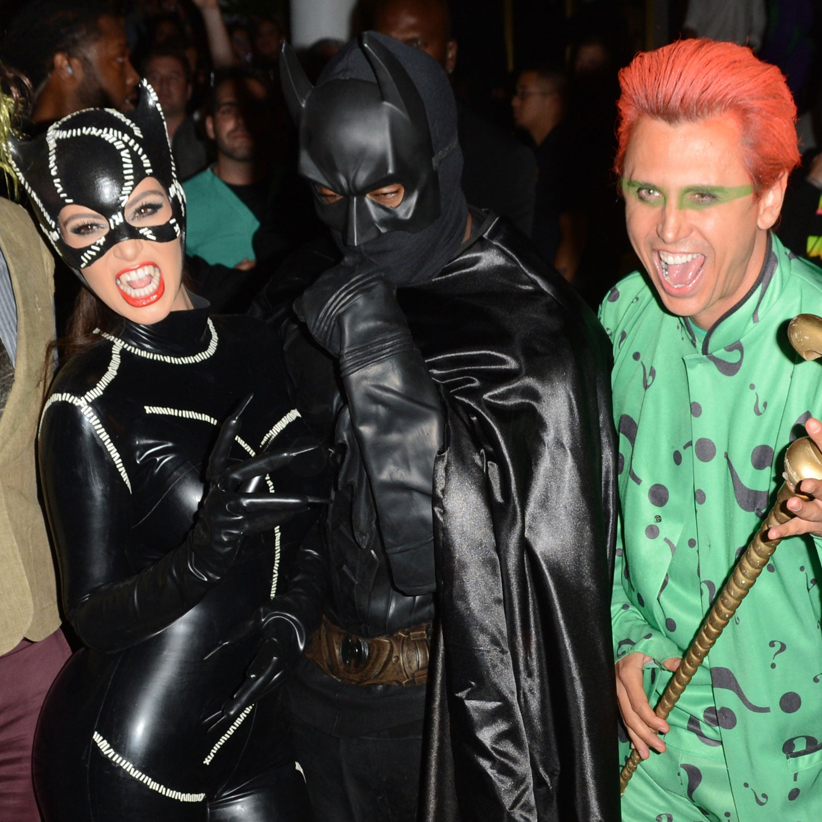 kim kardashian and kanye west in halloween costumes 2012 popsugar celebrity