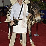 "Coffee monger ""Juan Valdez"" perked up audiences at the premiere of 2003's Bruce Almighty."