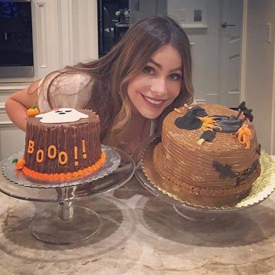 Sofia Vergara's Halloween Cakes
