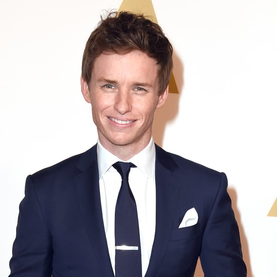 Eddie Redmayne's Story About His Golden Globe at the Airport