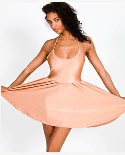 Nylon Tricot Figure Skater Dress $48, American Apparel
