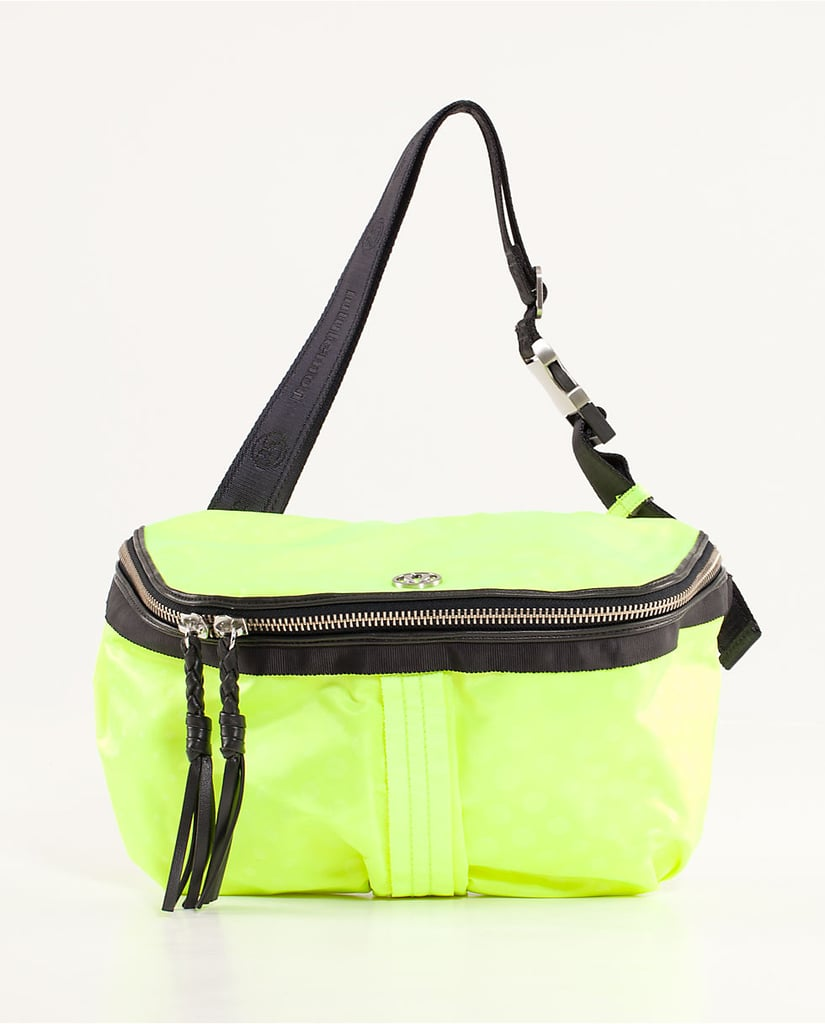Ever since I saw the Lululemon Good Fortune Bag ($58) I have been seriously coveting one. With tons of pockets, great prints, and so many different ways to wear it, this is awesome for any festivalgoer.
