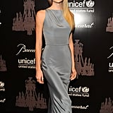 Lindsay Ellingson at the UNICEF Snowflake Ball.