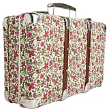 Floral print suitcase (£60) by Liberty of London.
