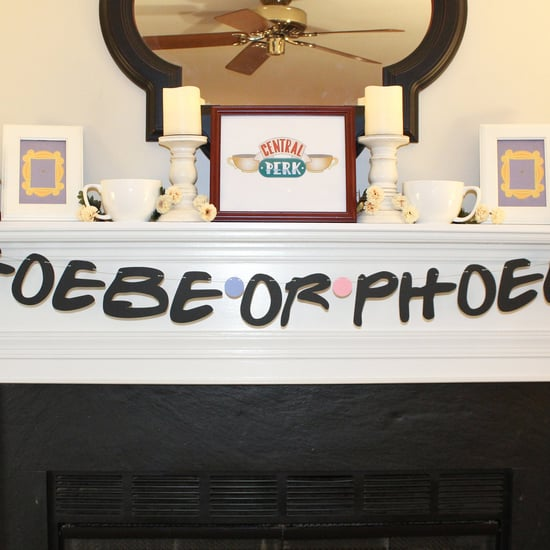 Shop a Friends-Themed Gender Reveal Phoebe or Phoebo Banner