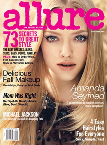 September 2009: Allure Magazine