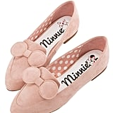 Minnie Mouse Bow Tie Loafers in Pink ($48)