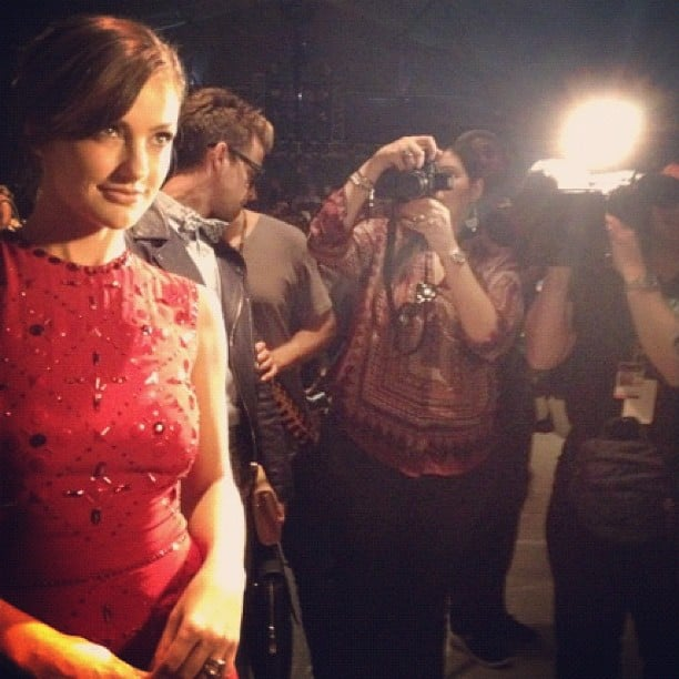 Entertainment Weekly got in on the photography action and snapped one of Minka Kelly during NYFW. Source: Instagram user entertainment_weekly