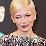 Michelle Williams at the BAFTAs in 2017