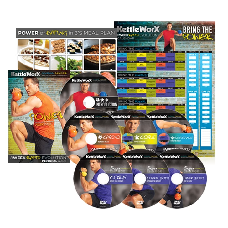 Kettleworx 8-Week Rapid Revolution DVD Set