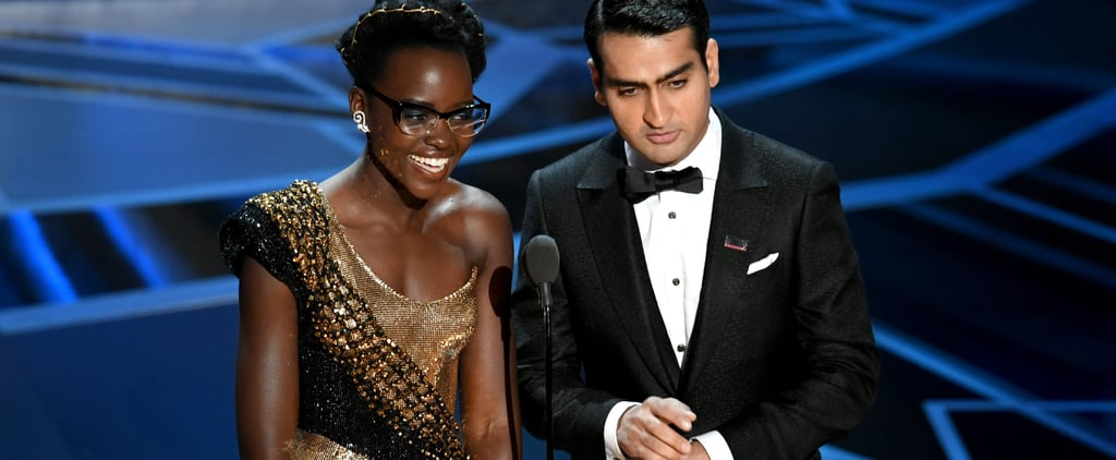 All Eyes Were on Lupita Nyong'o's Cat-Eye Reading Glasses at the Oscars