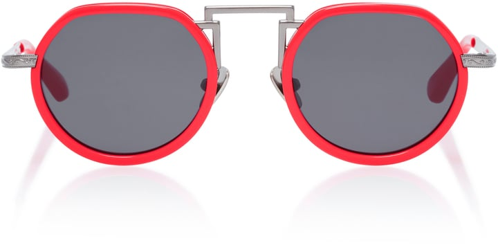 Rosie Assoulin Small Round Sunglasses