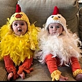 Twin Chicken Costumes