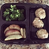 Broccoli + Meatballs + Potatoes