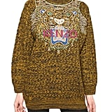If you're looking to hit all the right notes with a cheeky print, then this is it. All you have to do is layer it with your favorite pair of jeans and high-top kicks, and you're good to go. Kenzo Tiger Embroidery on Wool Knit Sweater ($873)